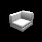1er Sofa links für die 3D Raumplanung