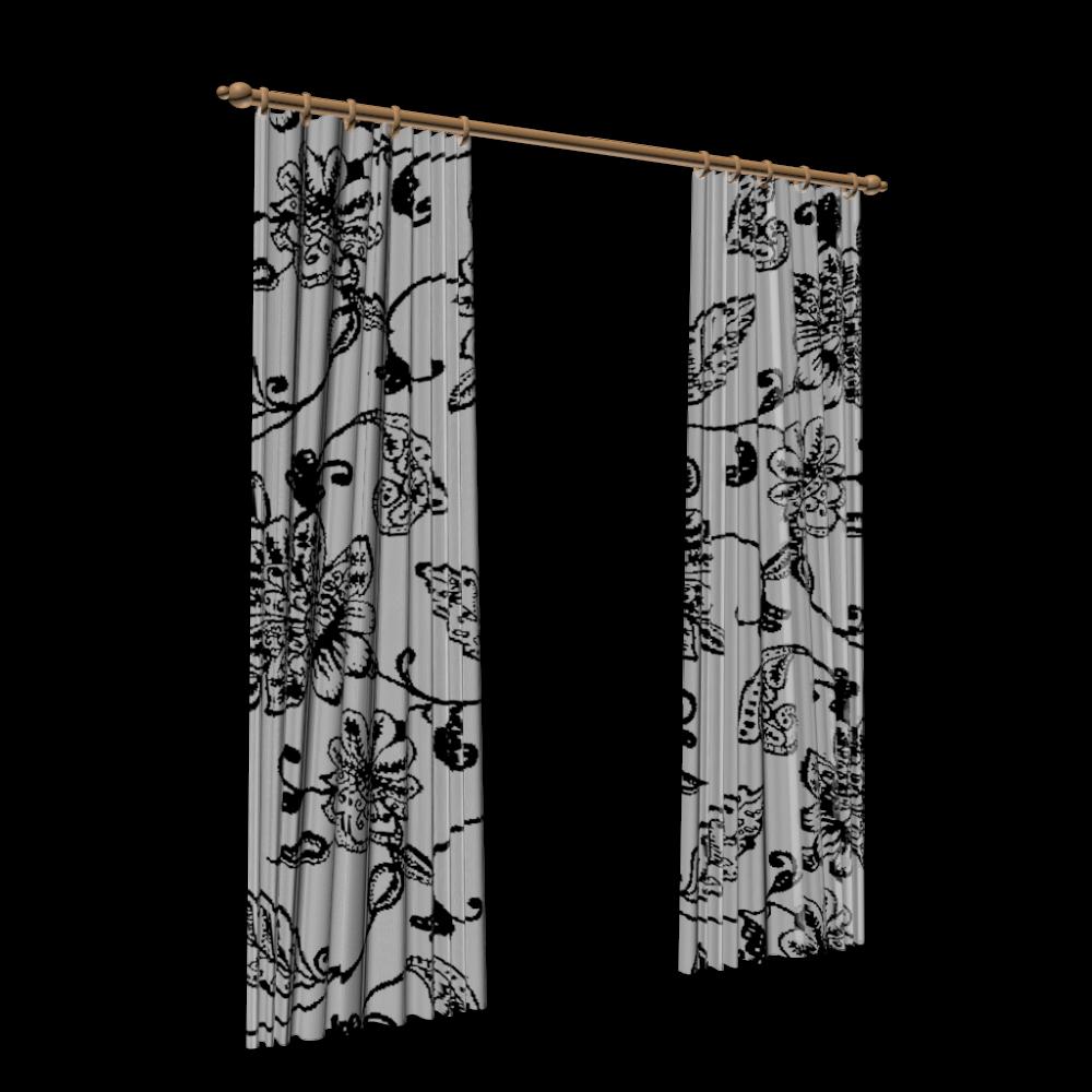 gardinen deko 3d gardinen gardinen dekoration. Black Bedroom Furniture Sets. Home Design Ideas