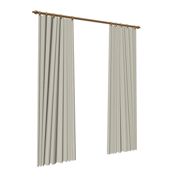 2 Gardinenschals