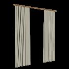 2 Gardinenschals für die 3D Raumplanung