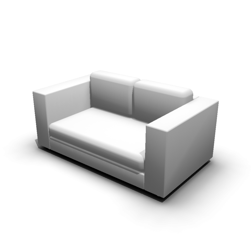 2er sofa design and decorate your room in 3d. Black Bedroom Furniture Sets. Home Design Ideas