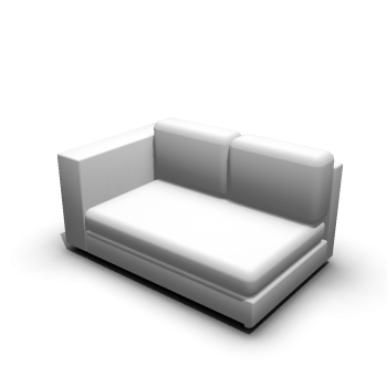 2er Sofa links