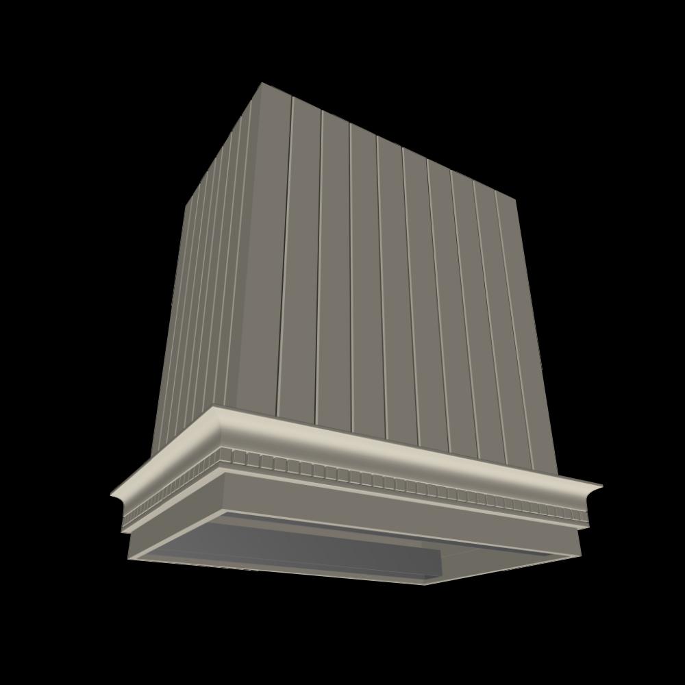 abzugshaube landhaus k che freih ngend einrichten planen in 3d. Black Bedroom Furniture Sets. Home Design Ideas