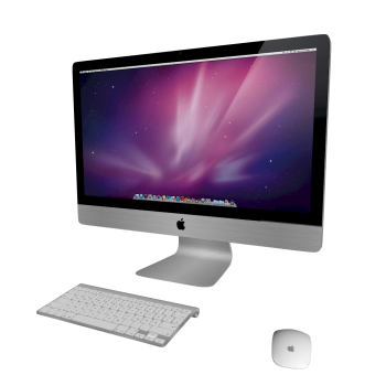 how to turn on imac mouse