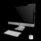 """27"""" iMac mit Tastatur und Maus für die 3D Raumplanung"""