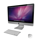 """27"""" iMac mit Tastatur und Maus von Apple"""