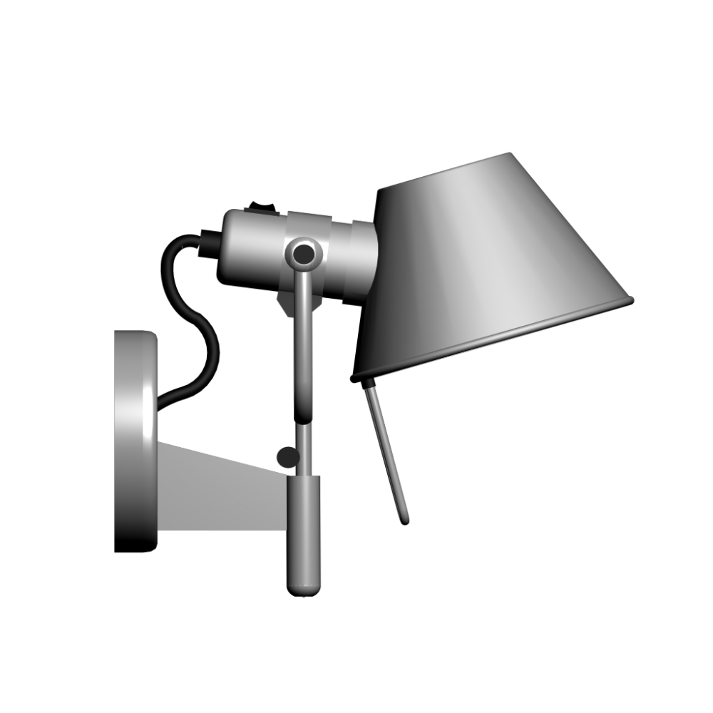 tolomeo faretto with trigger switch design and decorate your room in 3d. Black Bedroom Furniture Sets. Home Design Ideas