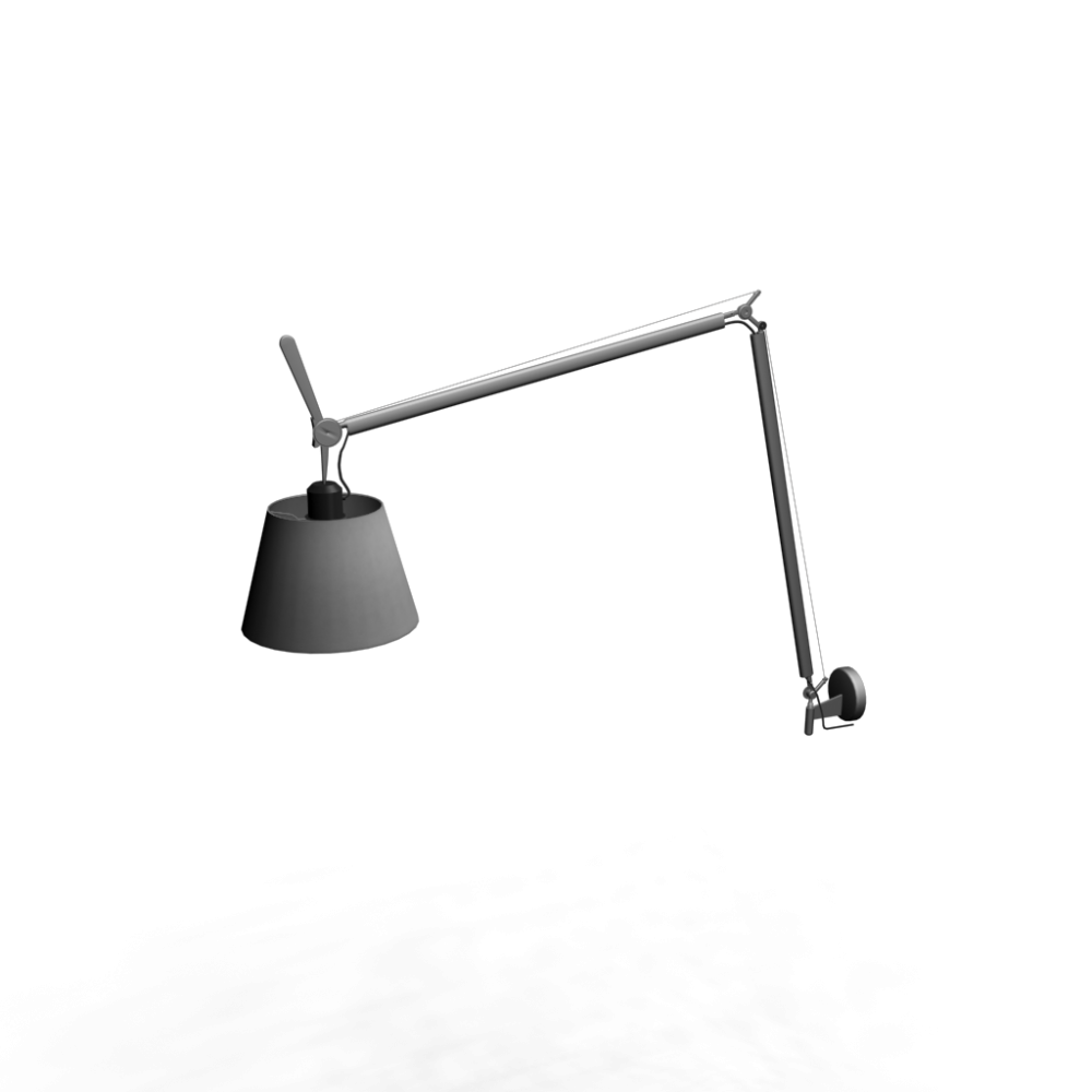 Tolomeo Mega Parete Onoff Satin 320 Design And