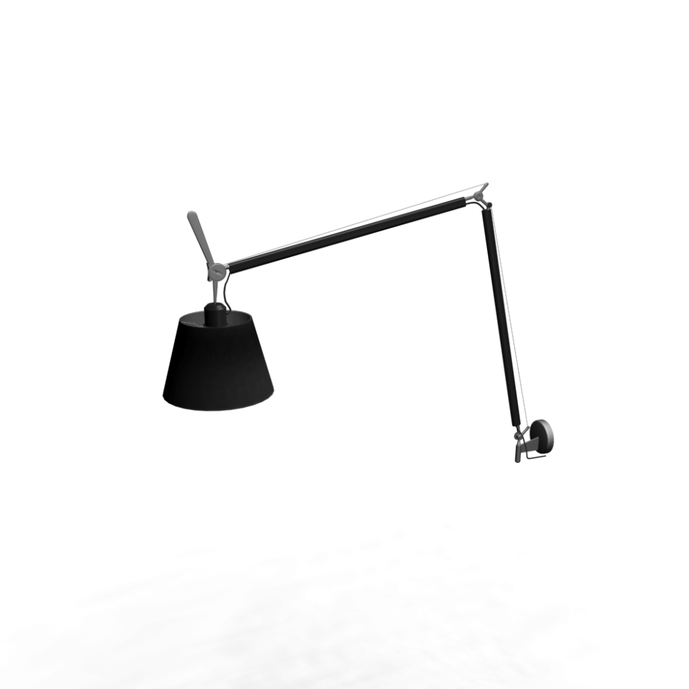 tolomeo mega parete onoff black 320 design and decorate your room in 3d. Black Bedroom Furniture Sets. Home Design Ideas