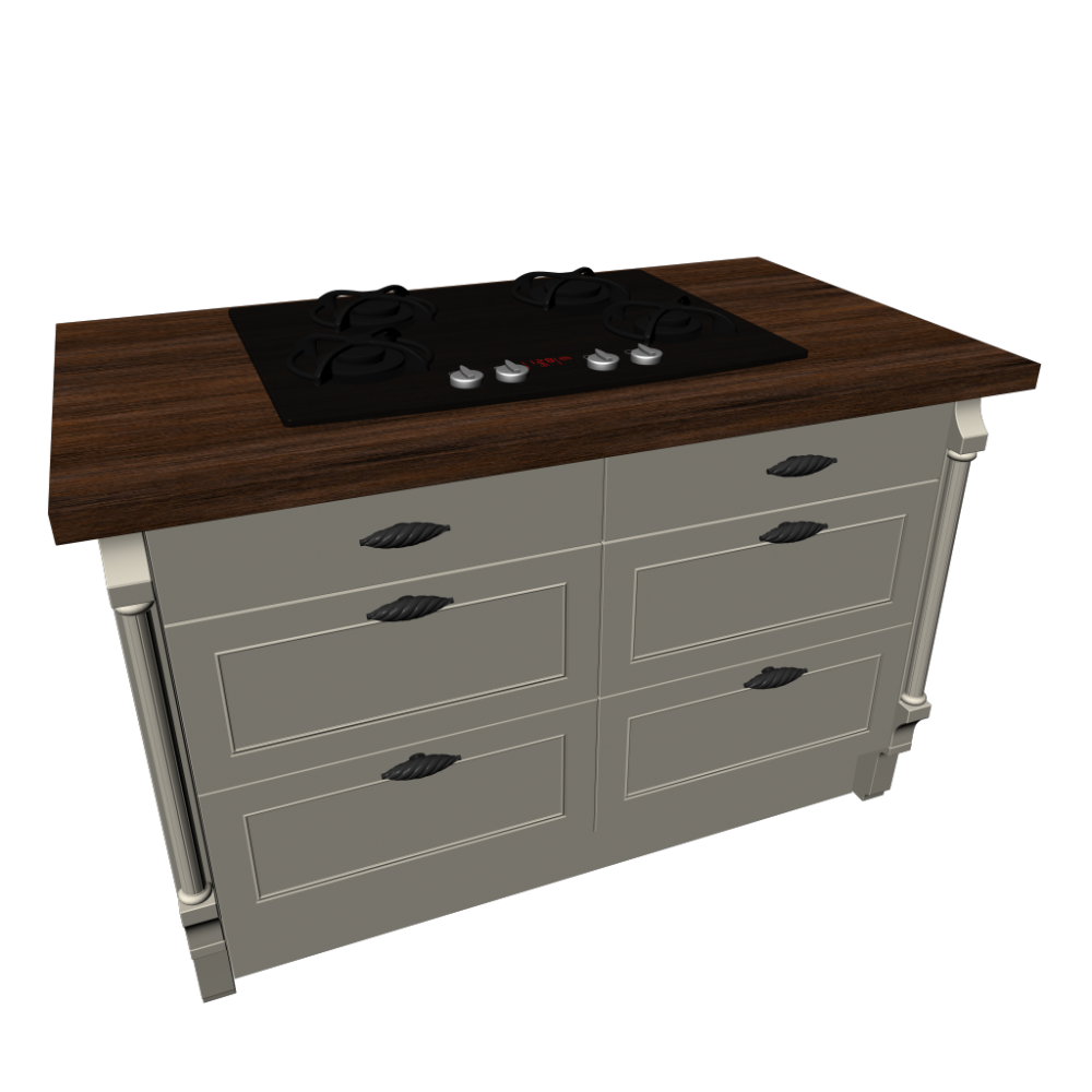 Base cabinet with gas cooktop design and decorate your for Kitchenette cupboard