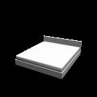 Bett für die 3D Raumplanung
