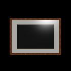 Bilderrahmen mit Passepartout für die 3D Raumplanung