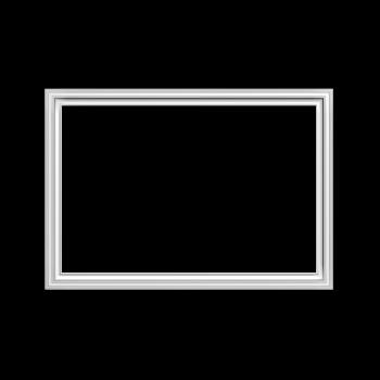 Rahmen in weiß