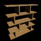 Bücherregal für die 3D Raumplanung