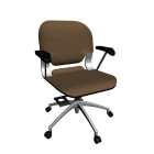 Bürodrehstuhl für die 3D Raumplanung