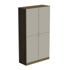 Cabinet with 4 doors
