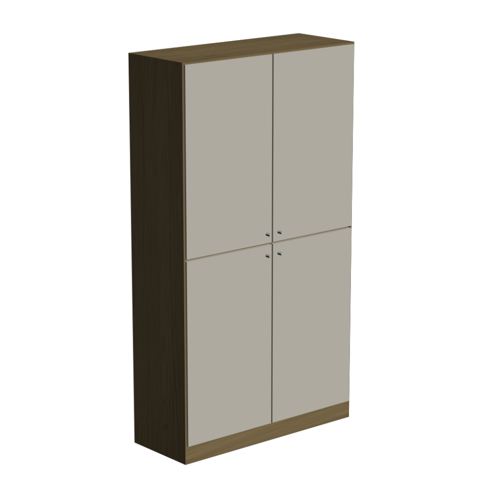 Cabinet With 4 Doors Design And Decorate Your Room In 3D