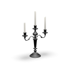 Candlestick for your 3d room design