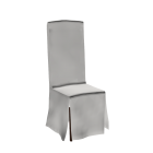 Chair with slip cover