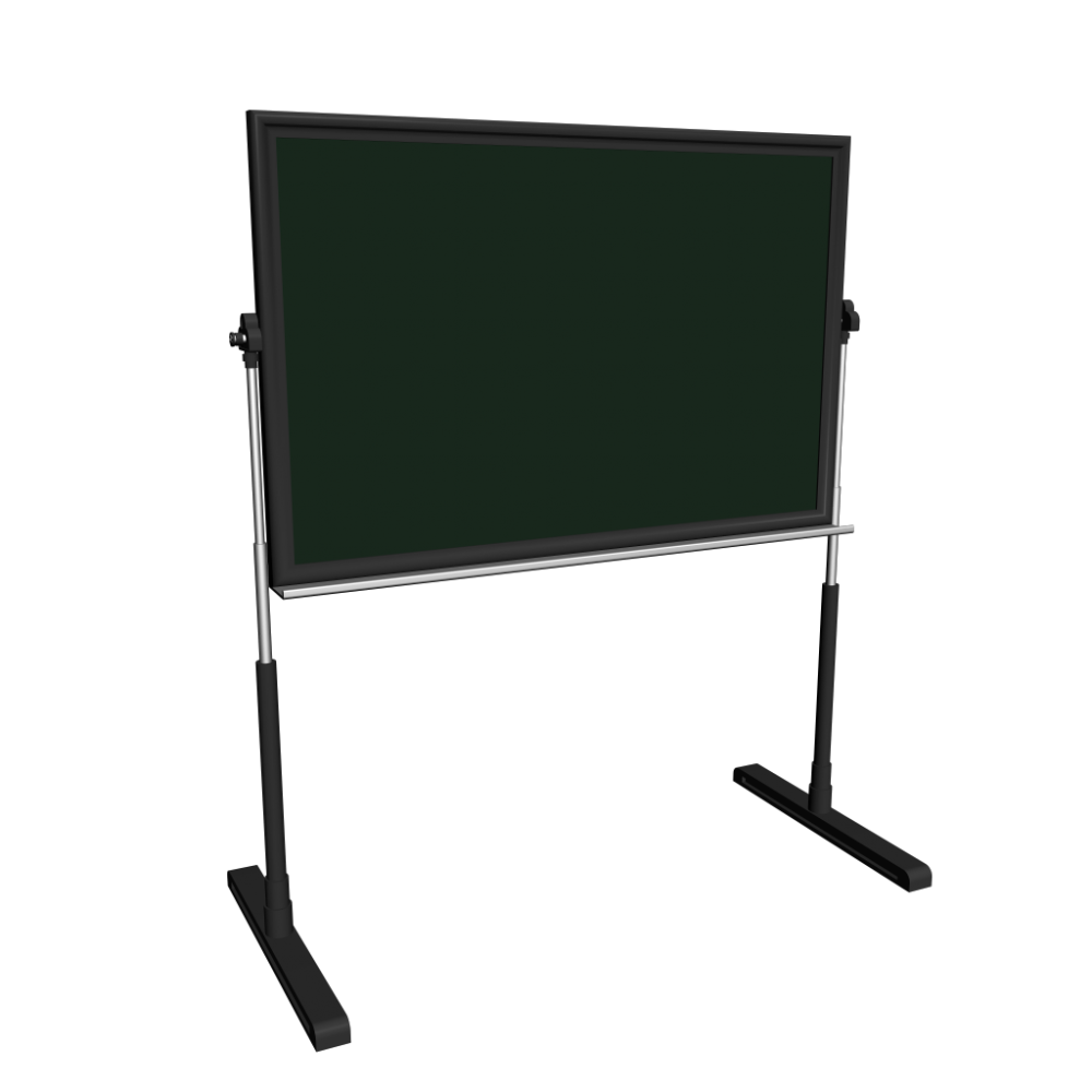chalkboard freestanding   design and decorate your room in 3d