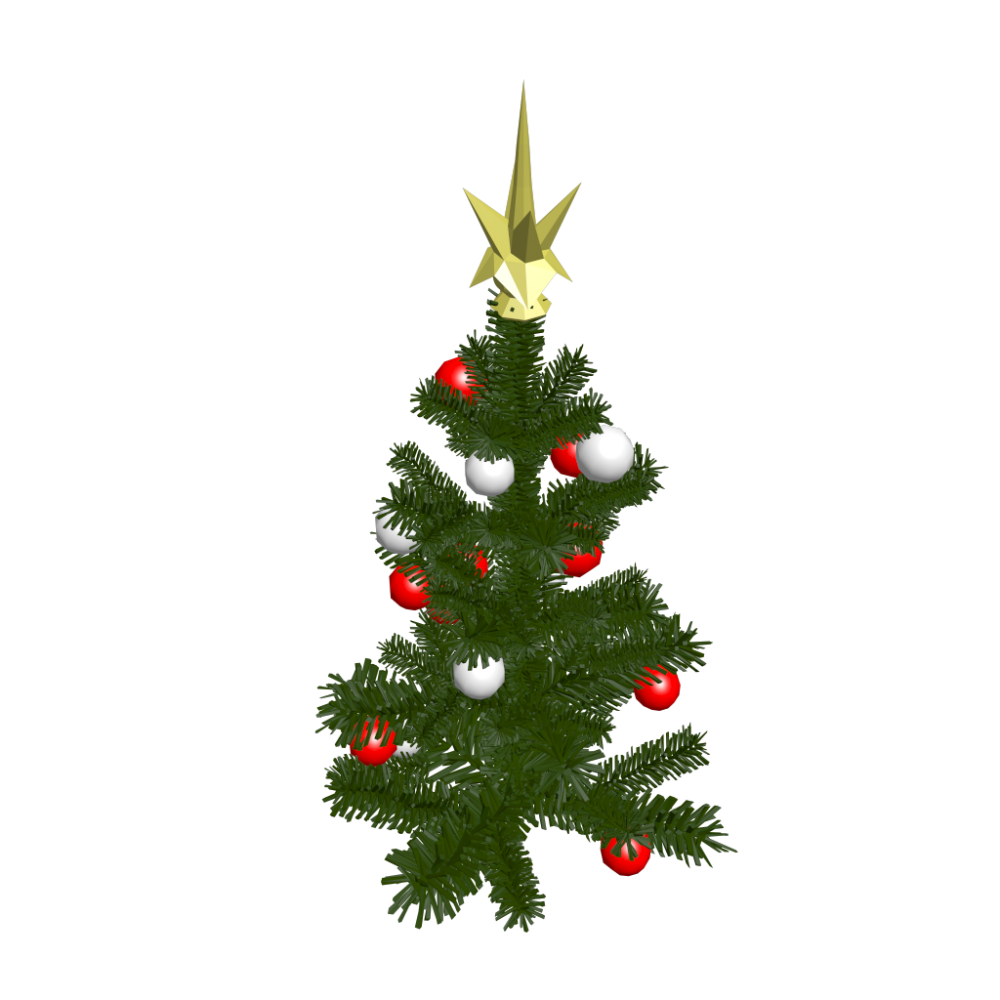 Christmas tree small design and decorate your room in 3d for Small designer christmas trees