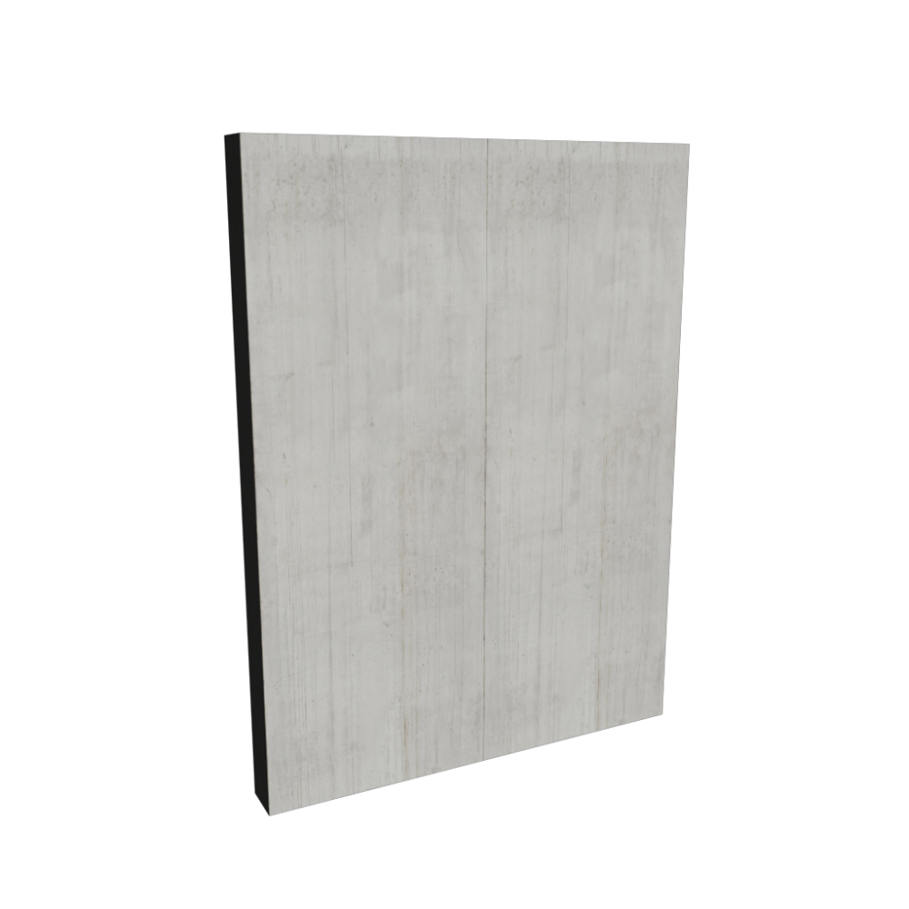 Concrete wall - Design and Decorate Your Room in 3D