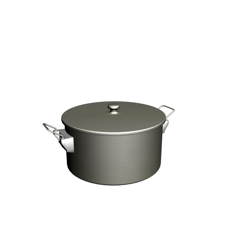 cooking pot design and decorate your room in 3d