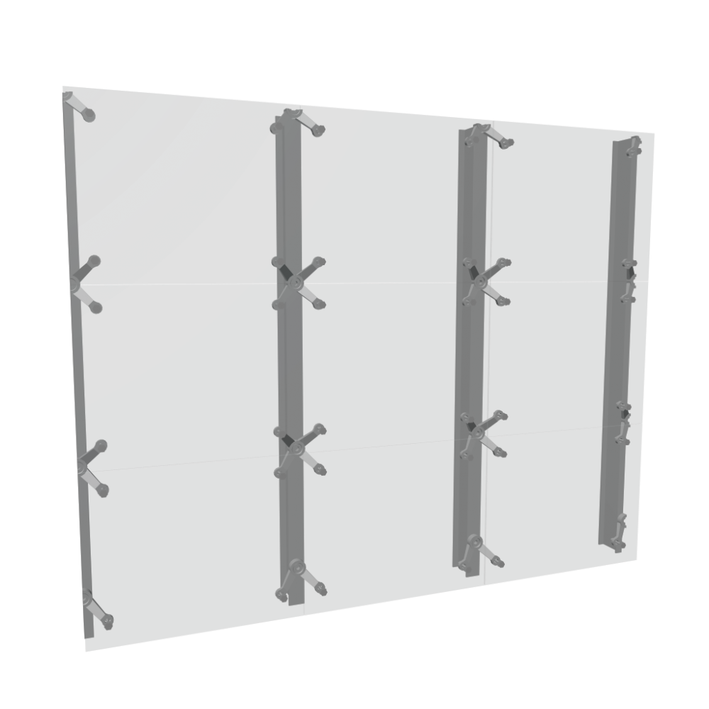 Curtain Wall For A Wall Thickness > 30cm
