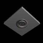 Deckenspot silber