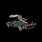 DeLorean DMC-12 für die 3D Raumplanung
