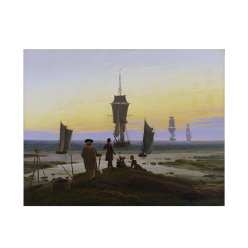 Die Lebensstufen von Caspar David Friedrich