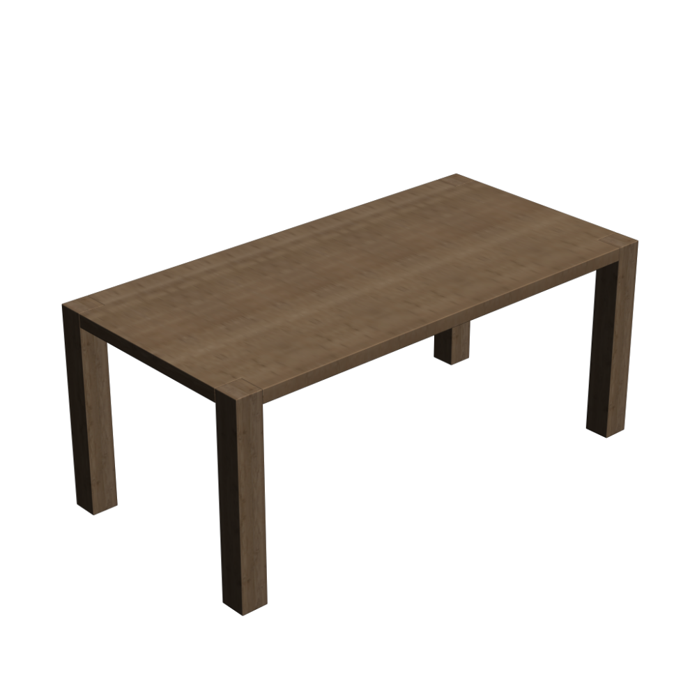 Wooden dining table design and decorate your room in 3d for Design restaurant table