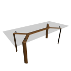 Dining Table for your 3d room design