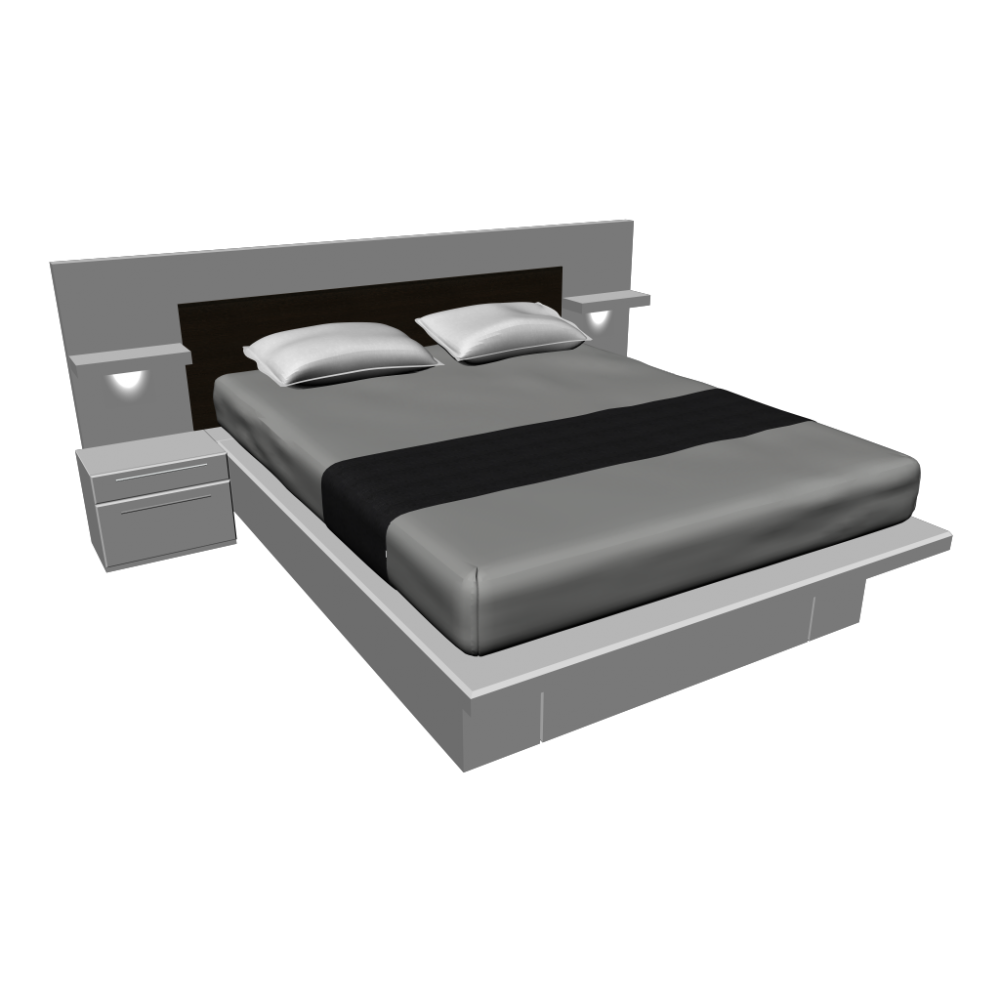 Sunmica Design For Double Bed