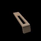 Onto Konsole Modul Handtuchöffnung oben by DURAVIT