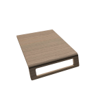 Onto Konsole Modul Handtuchöffnung vorn für die 3D Raumplanung