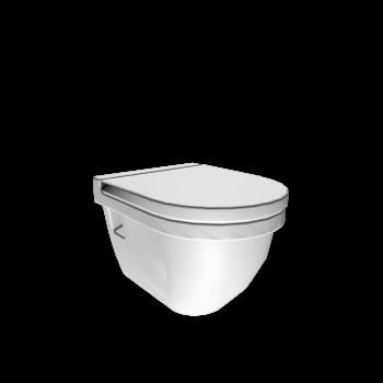 Starck 3 Wand-WC Compact Tiefspüler von DURAVIT