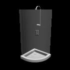 Dusche für die 3D Raumplanung
