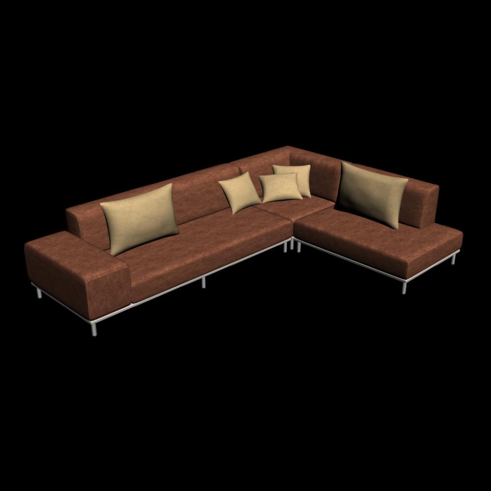 Eckcouch einrichten planen in 3d for Eckcouch sofa