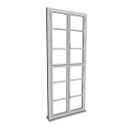 Einfachfenster hoch