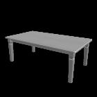 Esstisch in weiß für die 3D Raumplanung