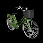 Damenrad für die 3D Raumplanung