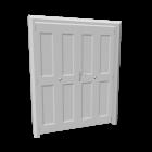 Falttür für die 3D Raumplanung
