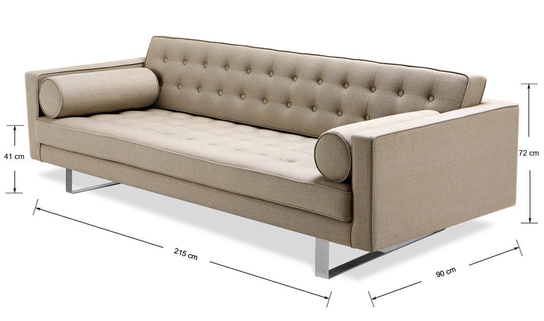 3 sitzer sofa chelsea kufen einrichten planen in 3d. Black Bedroom Furniture Sets. Home Design Ideas
