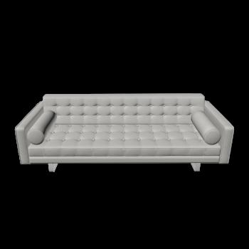 3-Sitzer Sofa Chelsea (Kufen) von Fashion For Home