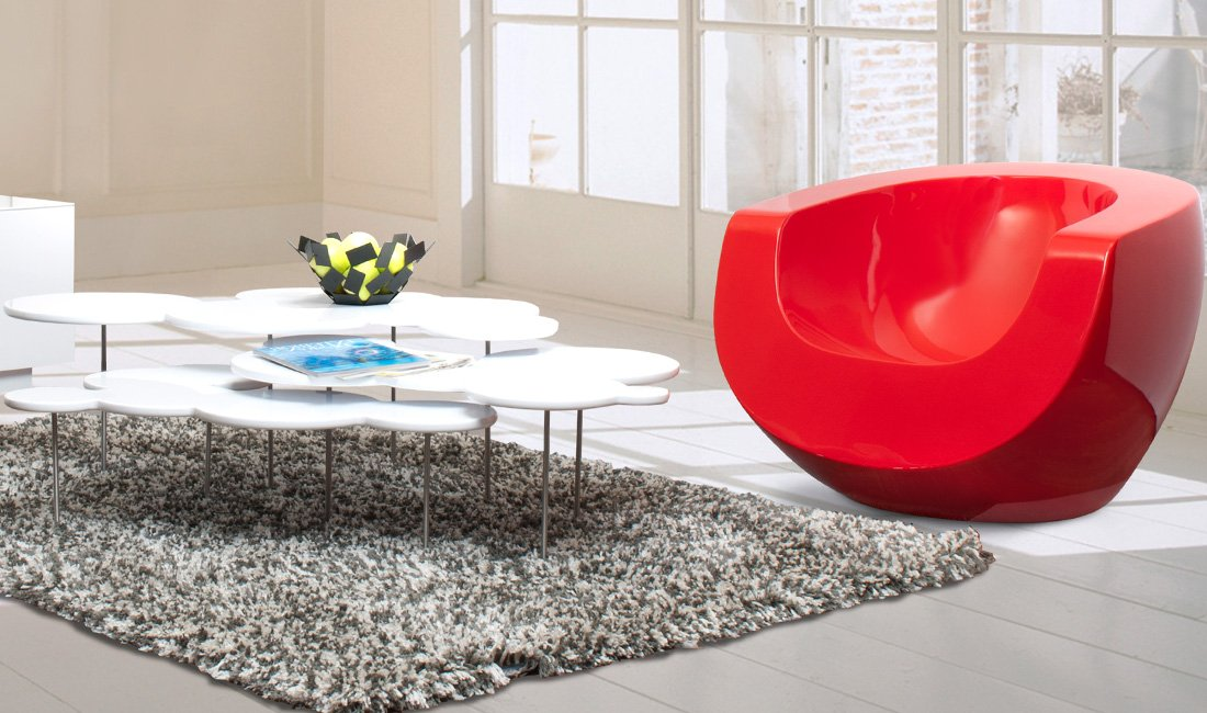 Cloud Coffee Table - Design and Decorate Your Room in 3D