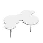 Cloud Coffee Table for your 3d room design