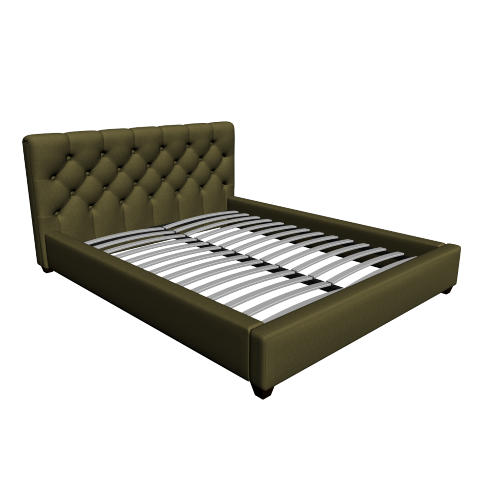 Grand premium green 160x200 cm bed design and decorate for Polsterbett 160x200 weiay