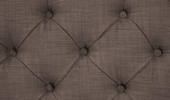 Bett Grand Grau-Braun Premium 160x200 cm von Fashion For Home