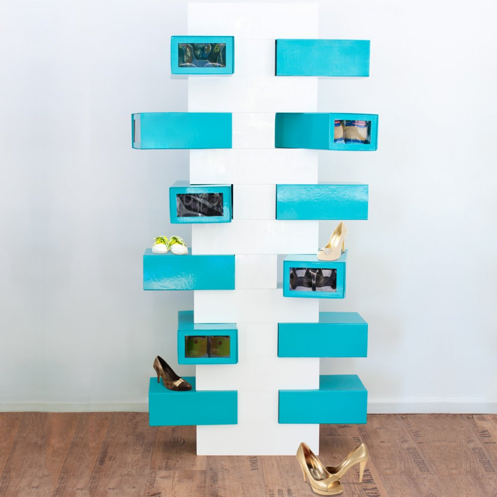 Sheo Rack Shoe Tree Set T White-Pink - Design and Decorate Your ...